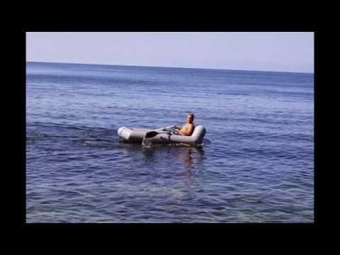 ловля на пвх лодке в море