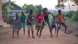 Village Children Dance With Sherrie Silver in Uganda