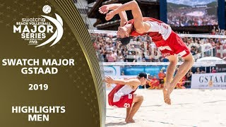 Men's Highlights | 5* Gstaad (SUI) - 2019 FIVB Beach Volleyball World Tour