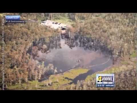 RESIDENTS UNDER MANDATORY EVACUATION AS LOUISIANA SINKHOLE CONTINUES TO COLLAPSE (FEB 26, 2013)