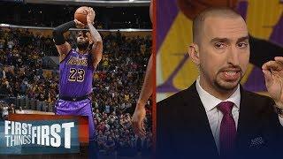 Nick Wright reacts to LeBron passing Wilt Chamberlain