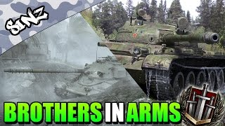 BROTHERS IN ARMS - World of Tanks Console | T-62A & Chieftain Mk. 6 Gameplay