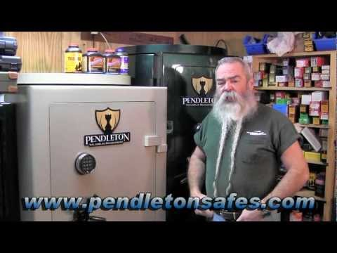"Pendleton Safe Company s ""Bishop"" Series Gun Safe - Gunblast.com"