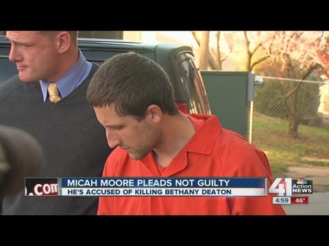 Micah Moore pleads not guilty for murder charges