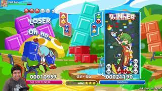 Puyo Puyo Tetris PC with livedesu (top ranked JP player)