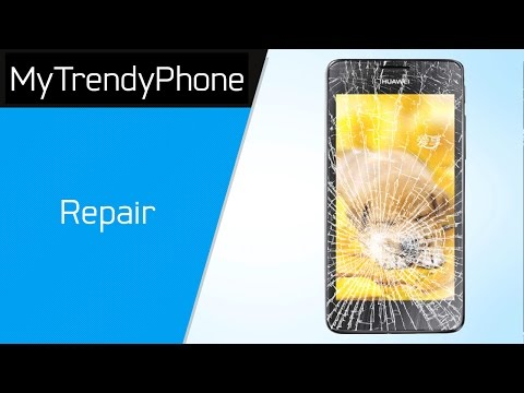 How to repair the display glass and the touch screen on the Huawei Honor 2