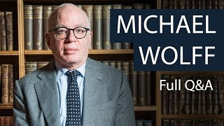 Michael Wolff | Full Q&A | Oxford Union