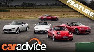 Mazda MX-5 Generations: NA to ND driven: A CarAdvice Feature
