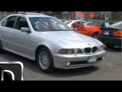 2001 BMW 5-Series 525i Broad Auto Sales Broad Street Newark, NJ