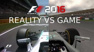 F1 2016 JÁTÉK VS VALÓSÁG