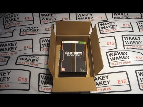 Black Ops 2 Unboxing! - Black Ops 2 Hardened Edition Unboxing