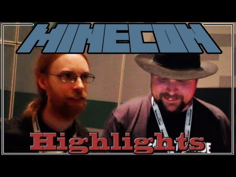 Minecon 2012 - Meeting Notch, Jeb, and Other Friendly Faces! (Modded Minecraft #22)