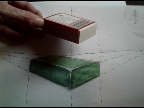 Dessiner un bo te en perspective 2 20 comprendre la for Apprendre a dessiner une maison en perspective