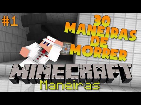 30 MANEIRAS DE MORRER NO MINECRAFT! Mapa #1