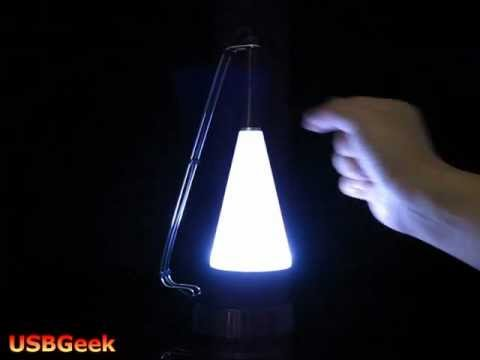 Touch-Sensitive LED Lamp with Speaker