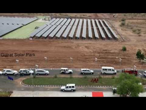 Gujrat Solar Park - Largest Solar Generation In Asia