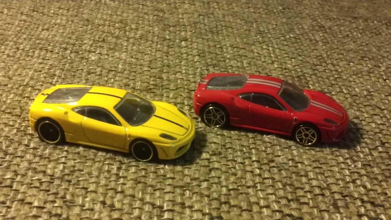 Huge Hot Wheels Ferrari Collection 128 Ferraris Youtube
