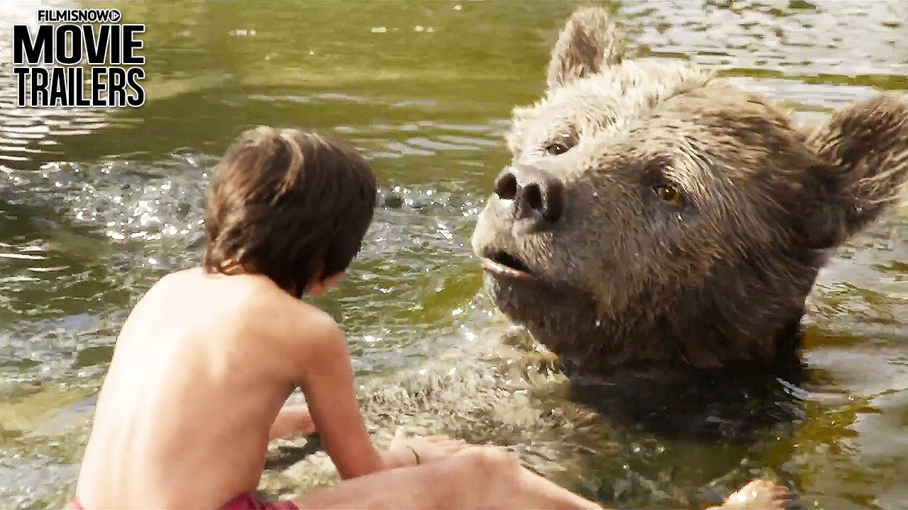 Look for the 'Bare Necessities' in a NEW Clip from THE JUNGLE BOOK [HD]