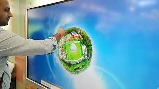 Touch Kiosk 360 virtual tour|360 video|Golden Globe Technologies