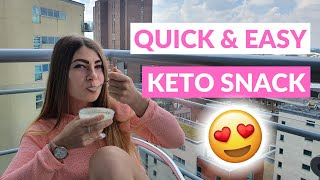 Best KETO SNACK! How To Make a QUICK CLEAN KETO SNACK, Recipe. Low Carb Keto Snack Recipe.