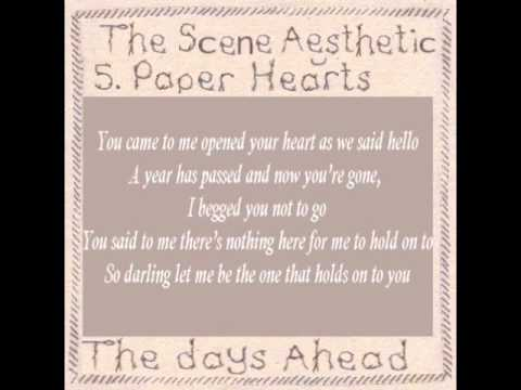 The Scene Aesthetic - Paper Hearts