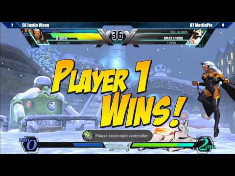Ultimate Marvel vs Capcom 3 Top 32 Semifinals Part 4 - Winter Brawl 8 Tournament