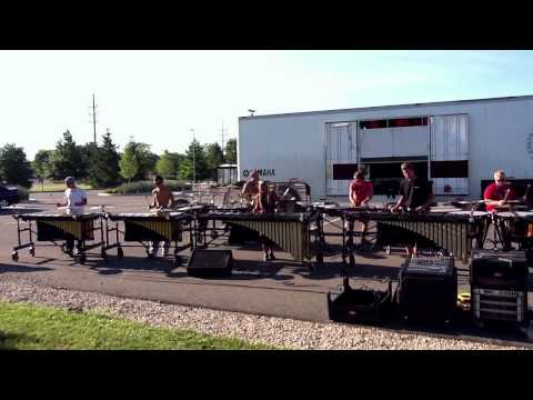 Colts Front Ensemble 2011 - Go Go Power Rangers!