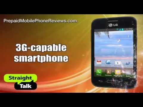 Straight Talk LG Optimus Fuel, Verizon-powered, available now with KitKat