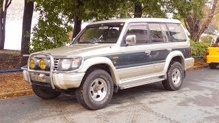 1992 Mitsubishi Pajero Diesel 4x4 (USA Import) Japan Auction Purchase Review