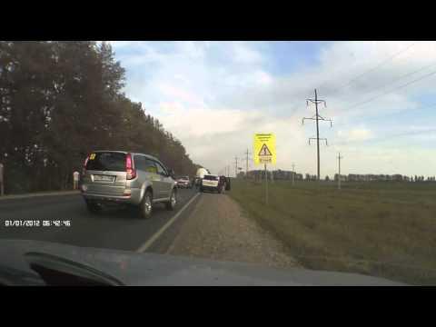 ДТП на трассе М7 рядом с Подымалово