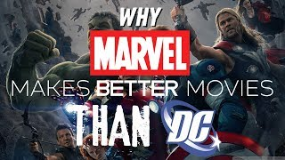 Why Marvel Makes Better Movies Than DC
