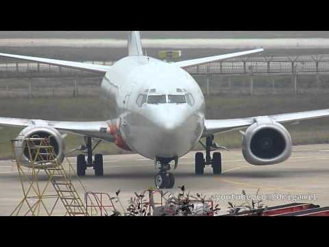 Noi Bai Intl Airport VVNB/HAN. ATC conversations are not synchronized with video.