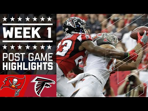 Buccaneers Vs Falcons Nfl Week 1 Game Highlights