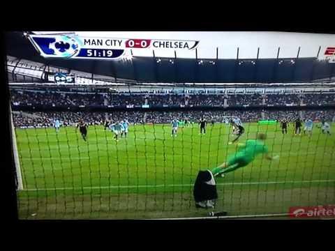Frank Lampard Penalty Miss- Joe Hart Amazing Penalty Save Vs Chelsea 24-02-2013 HD