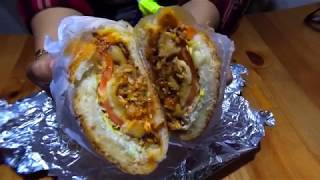 New York City Street Food   The Bronx Bodega food BEST Sandwiches