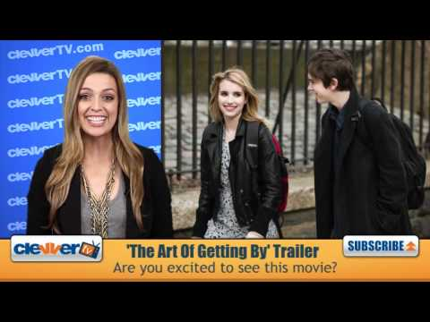 Freddie Highmore & Emma Roberts' 'The Art of Getting By' Trailer Recap