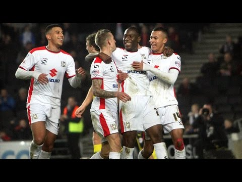 HIGHLIGHTS: MK Dons 6-0 Colchester United