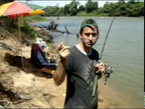 Instruções de  pesca - pescando curimba