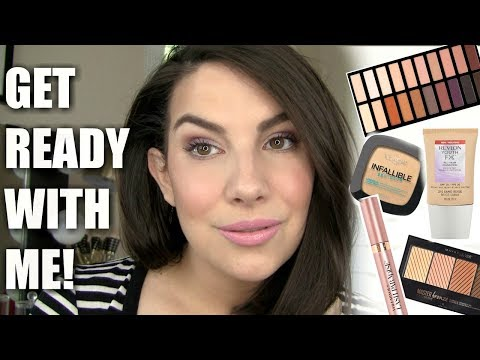 GET READY WITH ME   New Stuff. Mini Reviews