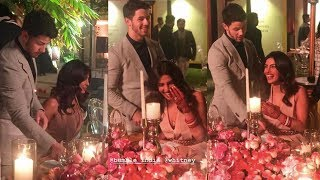 Priyanka Chopra Can't Stop Blushing As Nick Jonas Pulls Chair For Her In Front Of Everyone