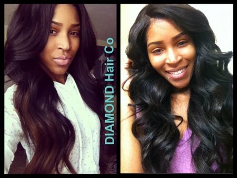 Diamond Hair Company Virgin Peruvian Straight Review❤