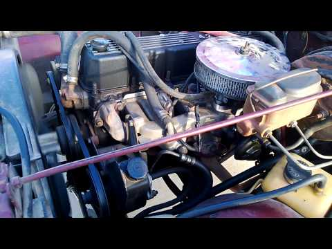 1984 Jeep CJ 4.2l Engine with Howell Fuel Injection Kit