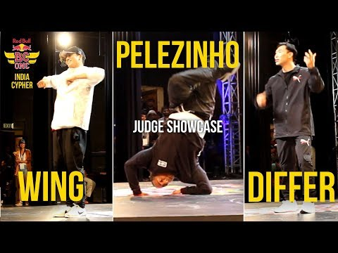 Judge Showcase - WING / DIFFER / PELEZINHO - Red Bull Bc One India Cypher 2017