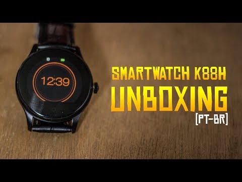 SMARTWATCH K88H UNBOXING! SMARTWATCH POR MENOS DE R$150
