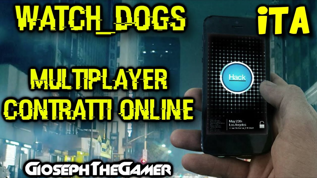 how to play multiplayer watch dogs