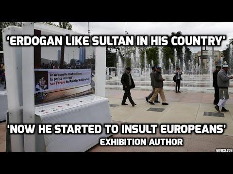 Turkey demands to remove pic accusing Erdogan of killing boy, Geneva rejects