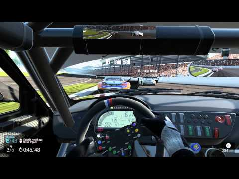 Gameplay: Project CARS with Oval circuit (build fev/2013)