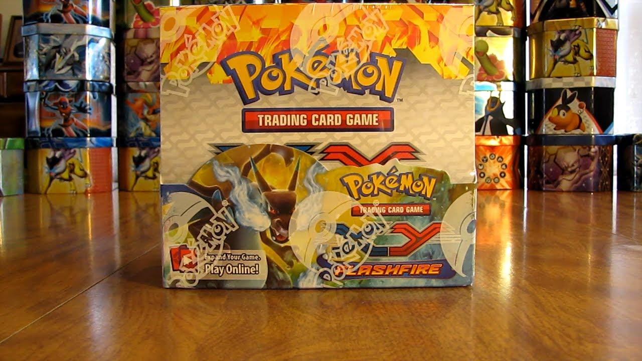 Pokemon Flashfire Booster Box Opening Pt 1 Youtube