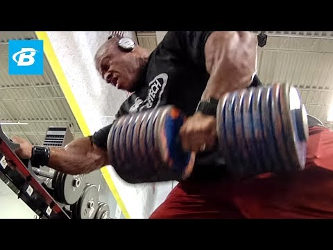 Phil Heath's Challenger Back Workout | 2011 Road to the Olympia