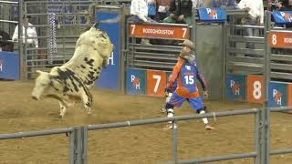 Bull Riding - Semi-Finals - Houston Rodeo - 14 March 2019